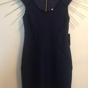 Express blue Dress NWT